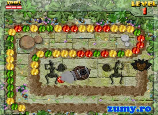 Play Tropical Zuma